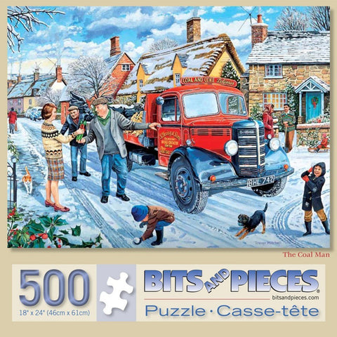 Coal Man 500 Piece Puzzle