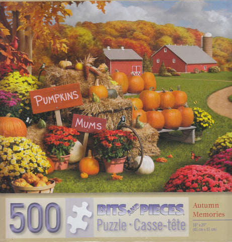 Autumn Memories 500 Piece Puzzle