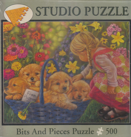 Basket Full of Love 500 Piece Puzzle