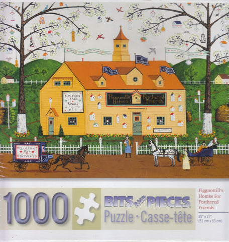 Fignottill's Homes For Feathered Friends 1000 Piece Puzzle