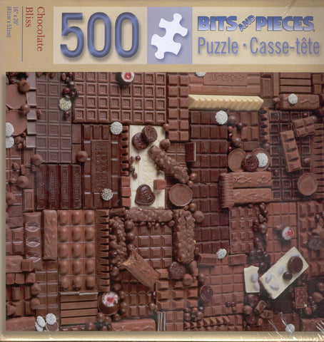 Chocolate Bliss 500 Piece Puzzle