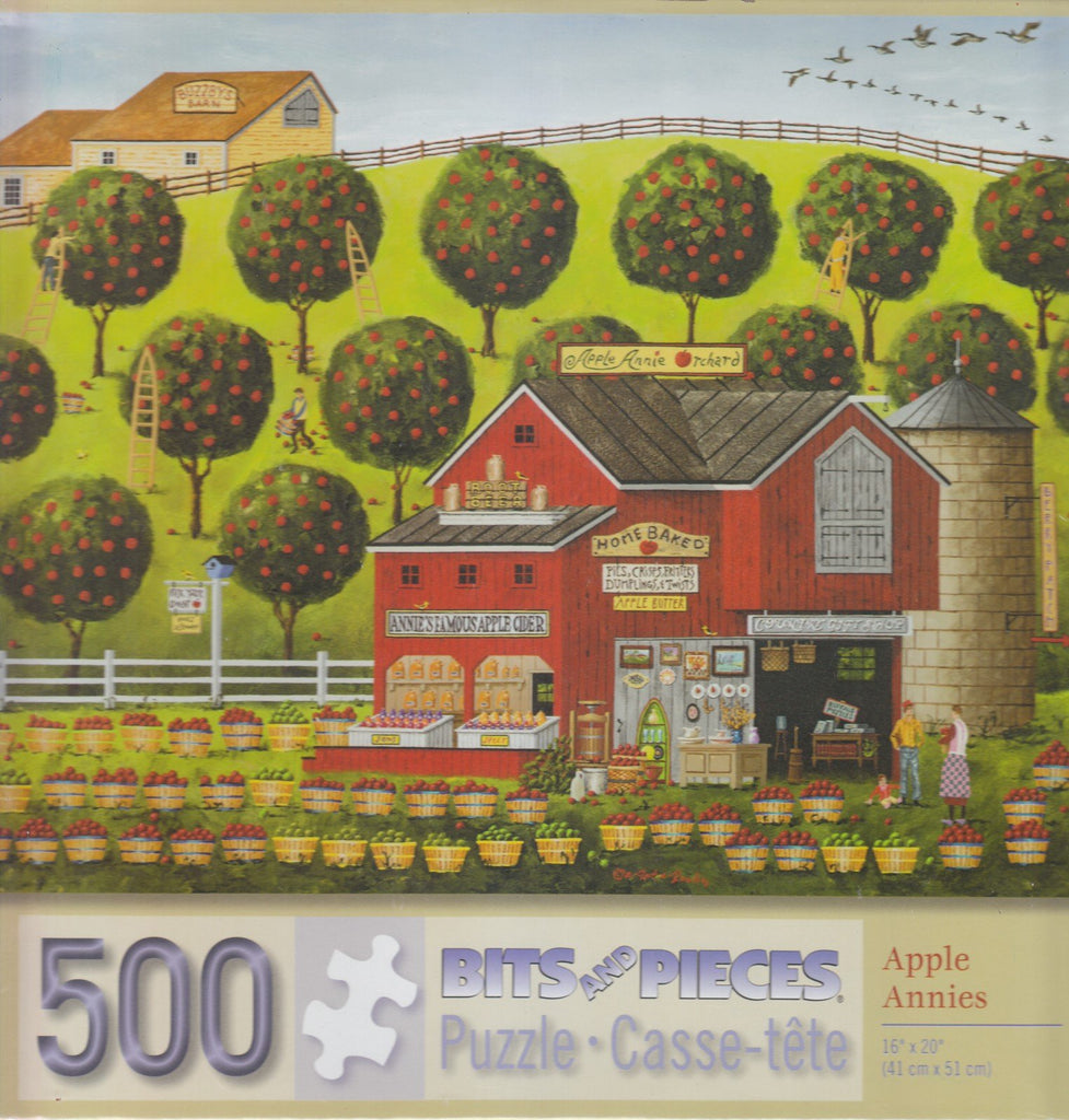 Apple Annies 500 Piece Puzzle