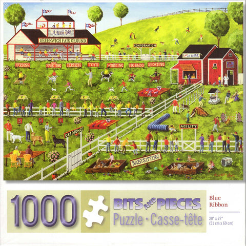 Blue Ribbon 1000 Piece Puzzle