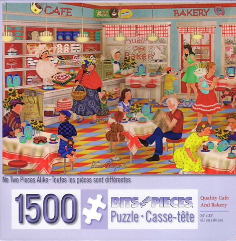 Quality Café and Bakery 1500 Piece Puzzle