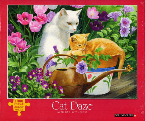Cat Daze 1000 Piece Puzzle
