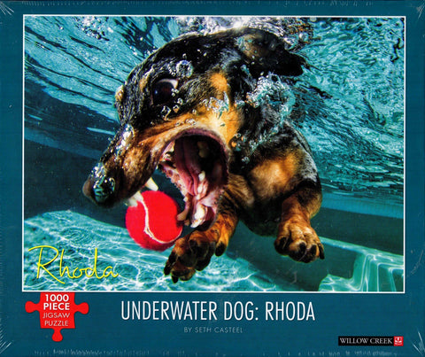 Underwater Dog: Rhoda 1000 Piece Puzzle