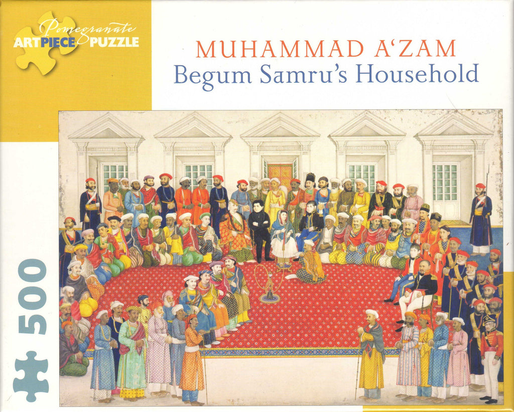 Begum Samru's Household 500 Piece Puzzle