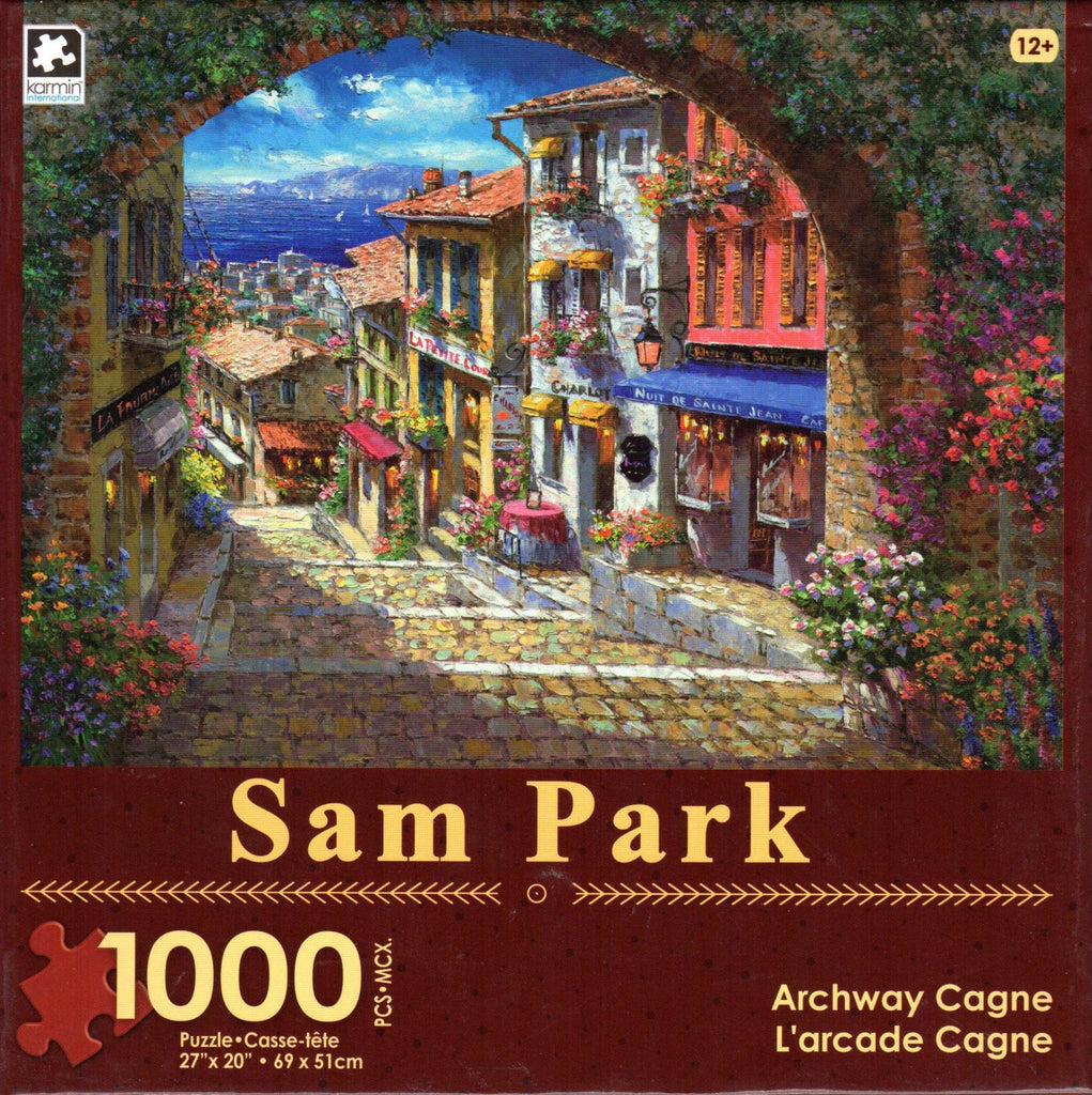 Archway Cagne 1000 Piece Puzzle