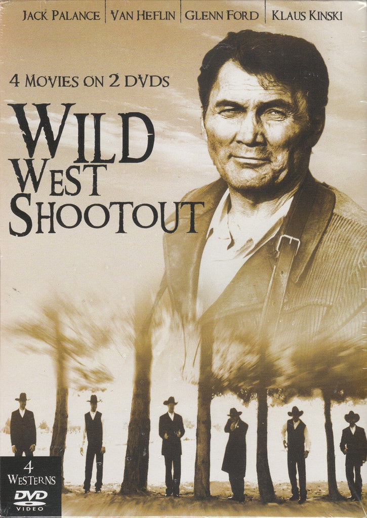 Wild West Shootout 4 Movie Pack