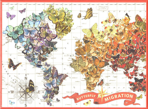 Butterfly Migration 1000 Piece Puzzle
