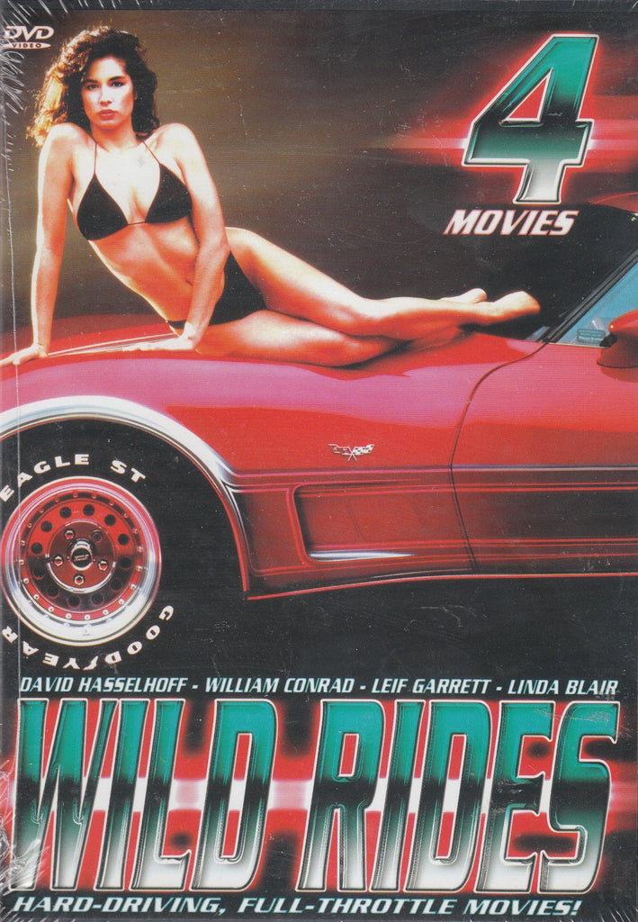 Wild Rides 4 Movie Pack