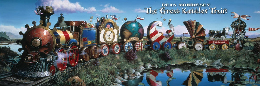 Great Kettles Train 500 Piece Puzzle