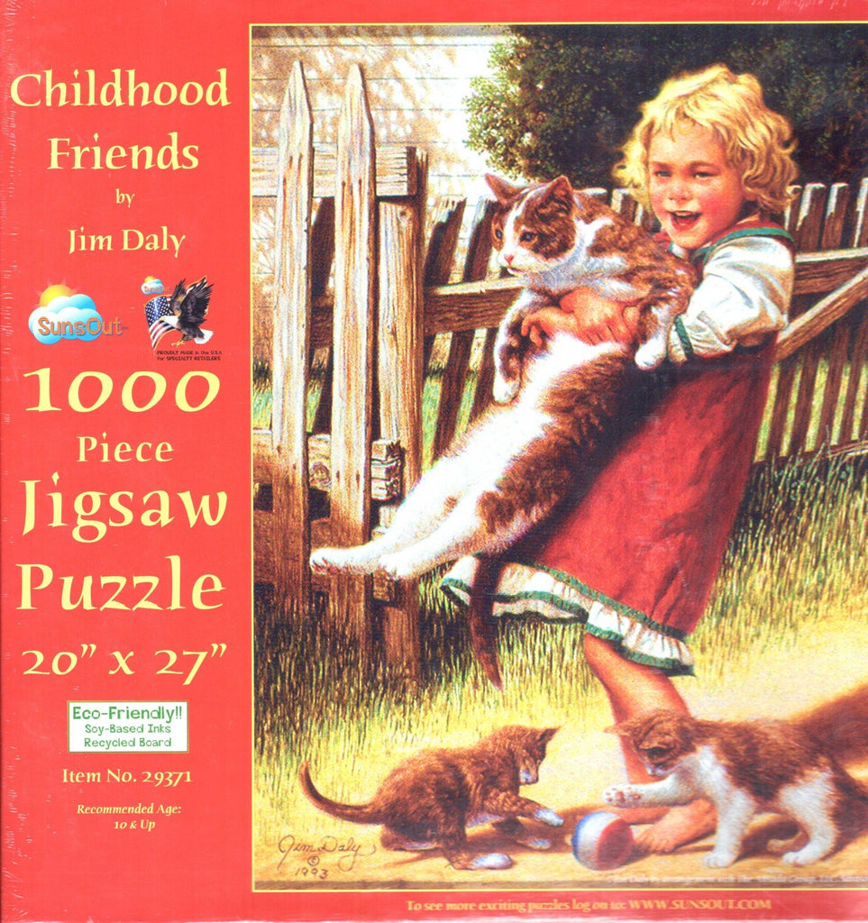 Childhood Friends 1000 Piece Puzzle