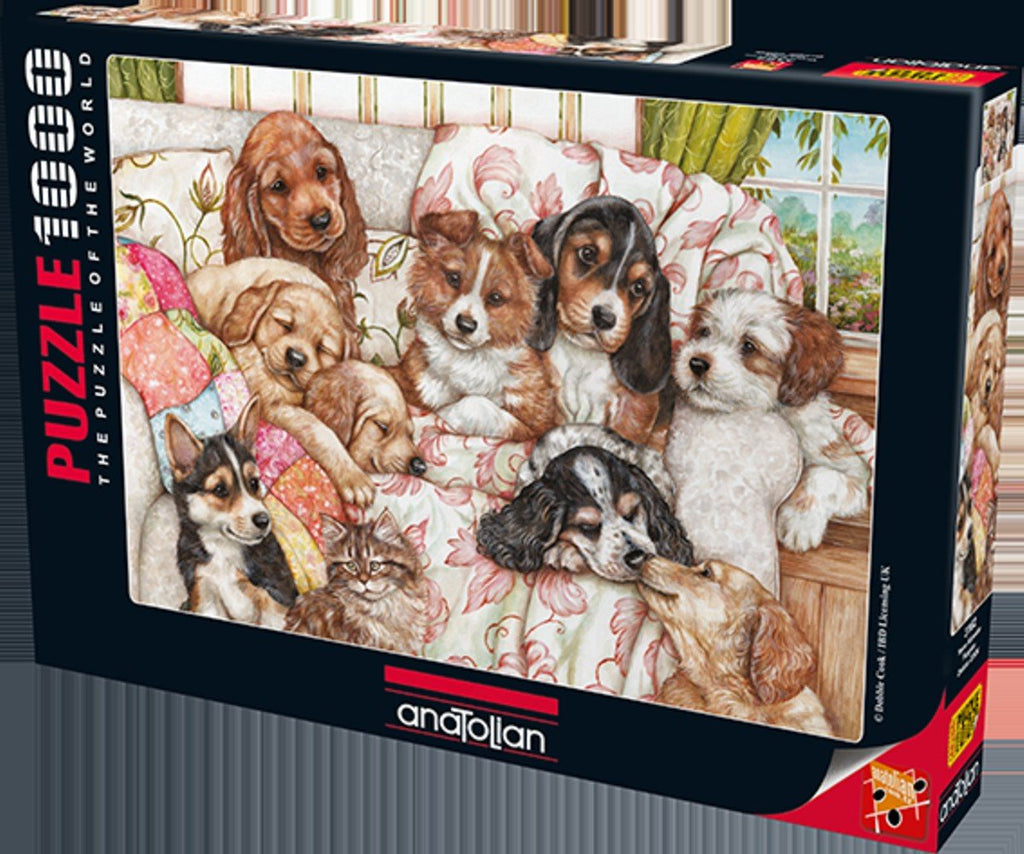 Anatolian Puzzle 1000 Piece - Puppies