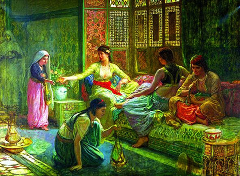 Anatolian Puzzle 1000 Piece - Interior of a Harem