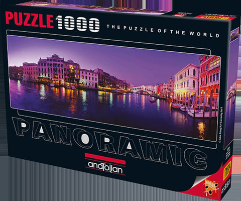 Anatolian Puzzle 1000 Piece - Grand Canal Panoramic