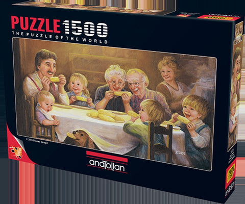 Anatolian Puzzle 1500 Piece - Dinner Time