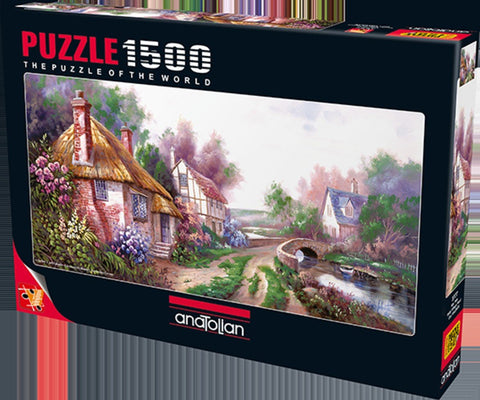 Anatolian Puzzle 1500 Piece - Holly Village Road