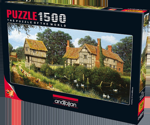 Anatolian Puzzle 1500 Piece - Chicken In Lane