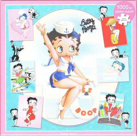 Otter House 1000 Piece Puzzle - Betty Boop