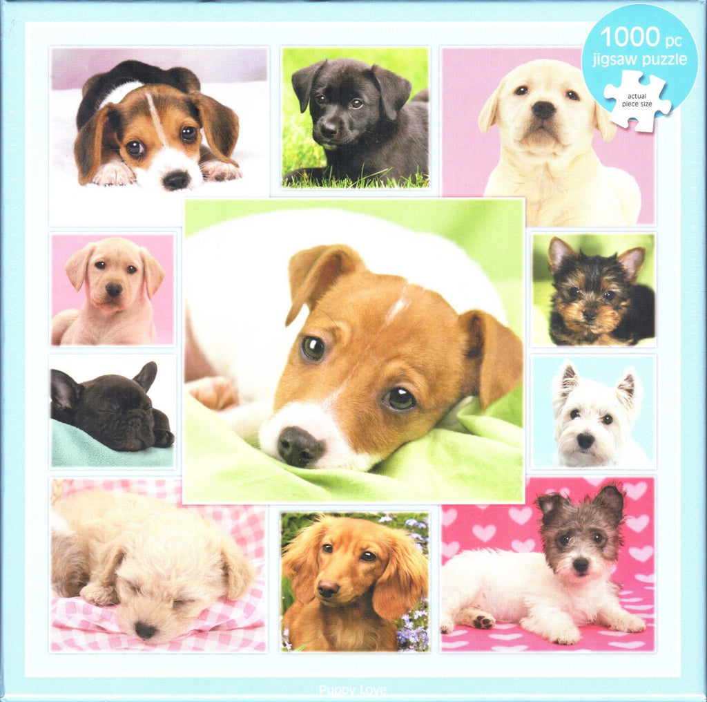 Otter House 1000 Piece Puzzle - Puppy Love