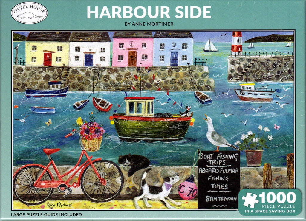 Otter House 1000 Piece Puzzle - Harbour Side