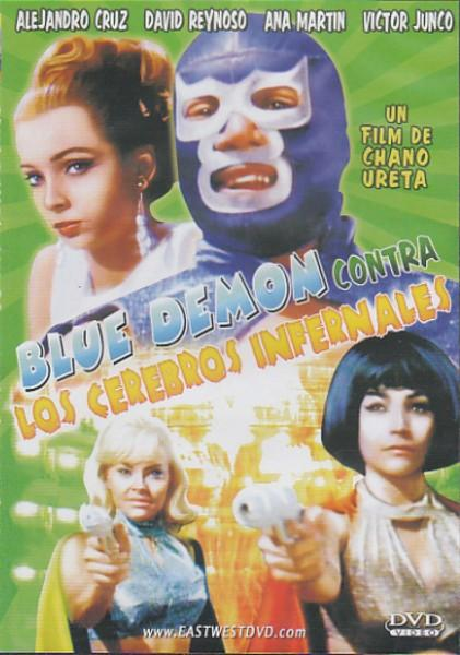 Blue Demon Contra Los Cerebros Infernales [Slim Case]
