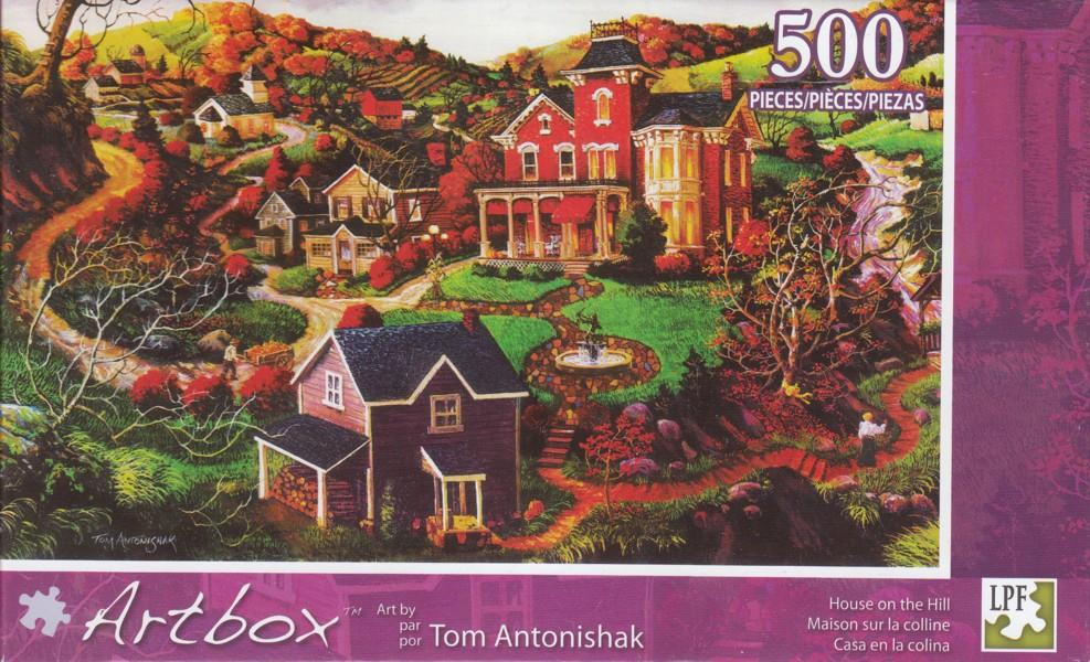 Artbox 500 - House On The Hill
