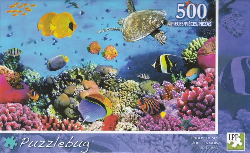 Puzzlebug 500 - Under The Sea