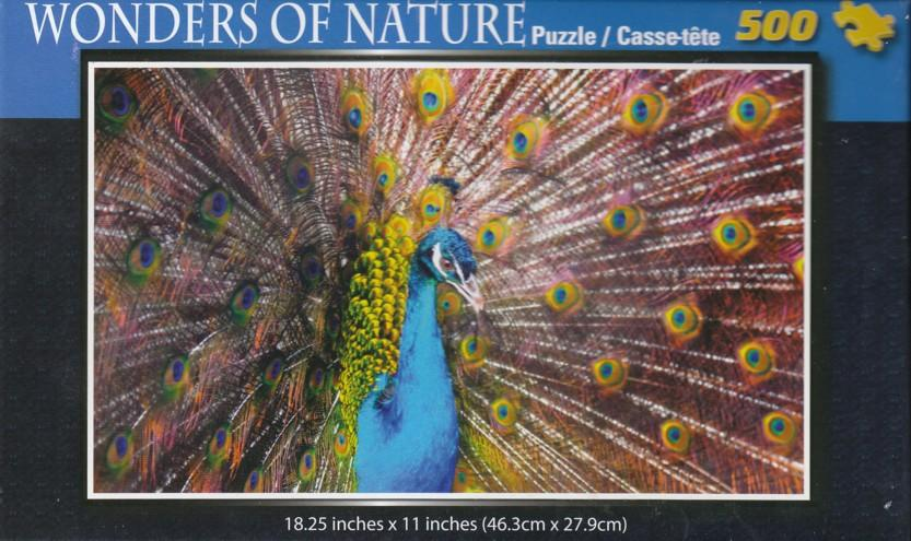 Wonders Of Nature - Peacock 500 pc Puzzle
