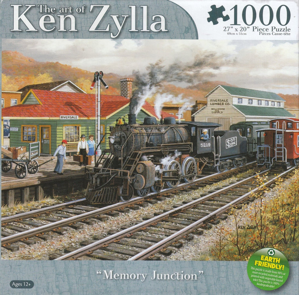 Memory Junction 1000 Piece Puzzle