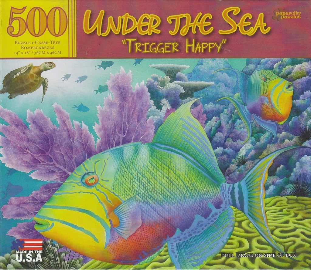 "Under The See ""Trigger Happy"" 500 Piece Puzzle"