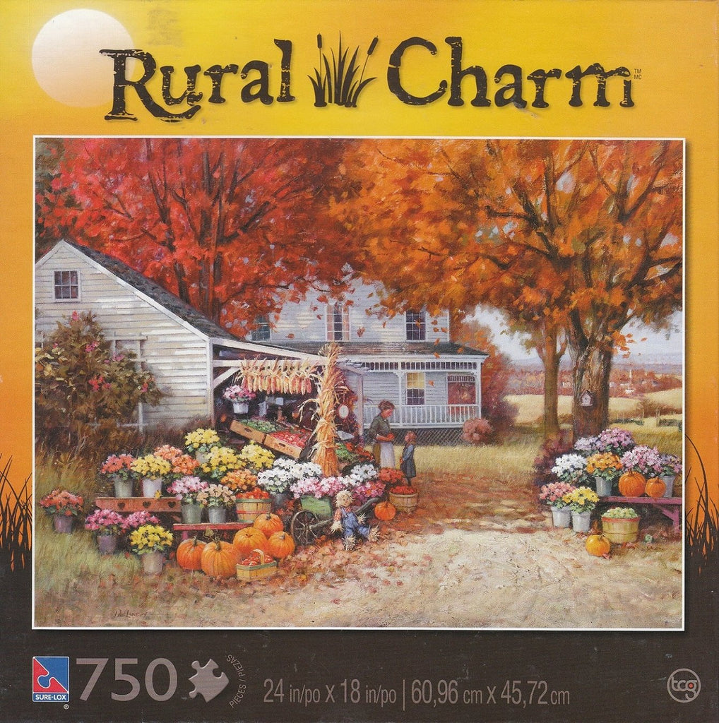 Aunt Martha's Heirloom 750 Piece Puzzle