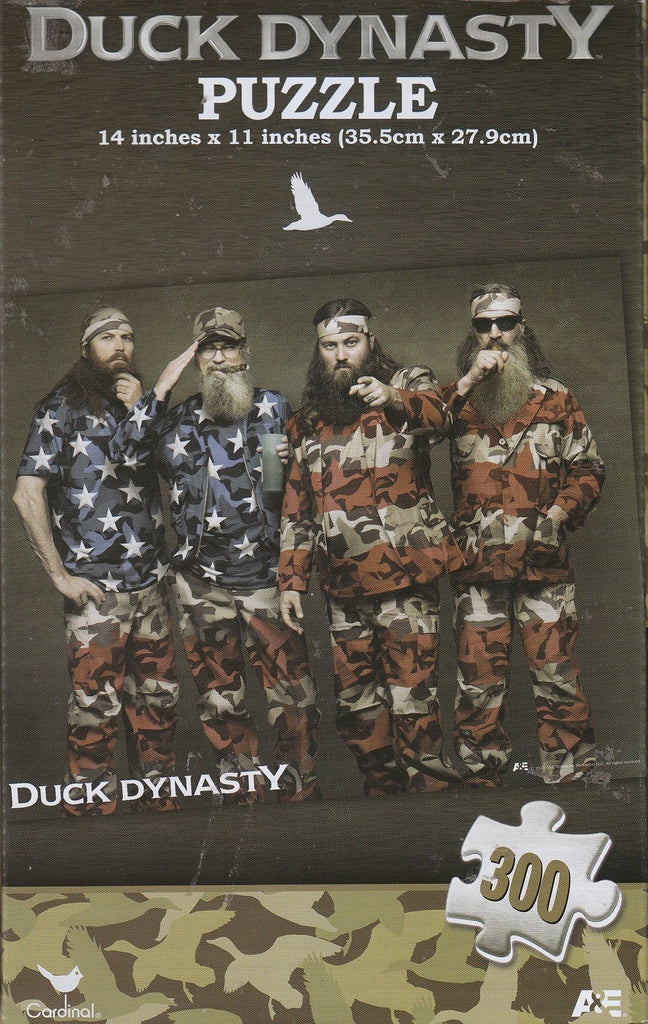 Duck Dynasty Flag 300 Piece Puzzle