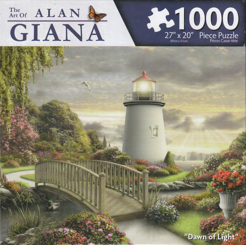 Dawn of Light 1000 Piece Puzzle