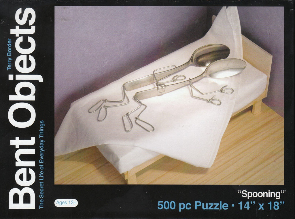 Bent Objects: Spooning 500 Piece Puzzle
