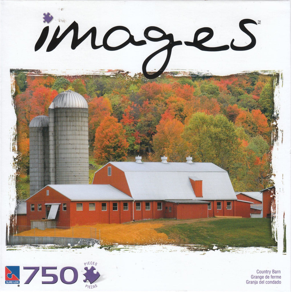 Images - Country Barn 750 Piece Puzzle
