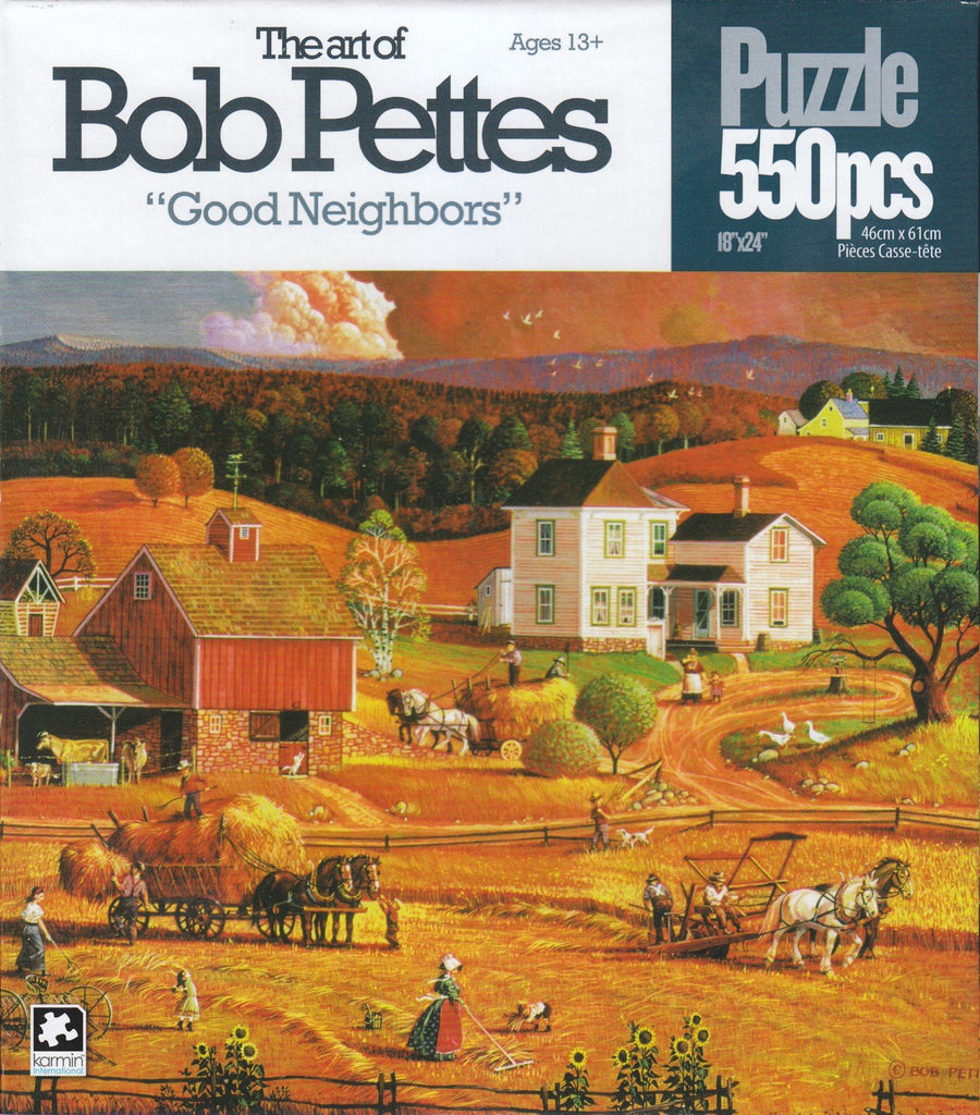 Good Neighbors 550 Piece Puzzle