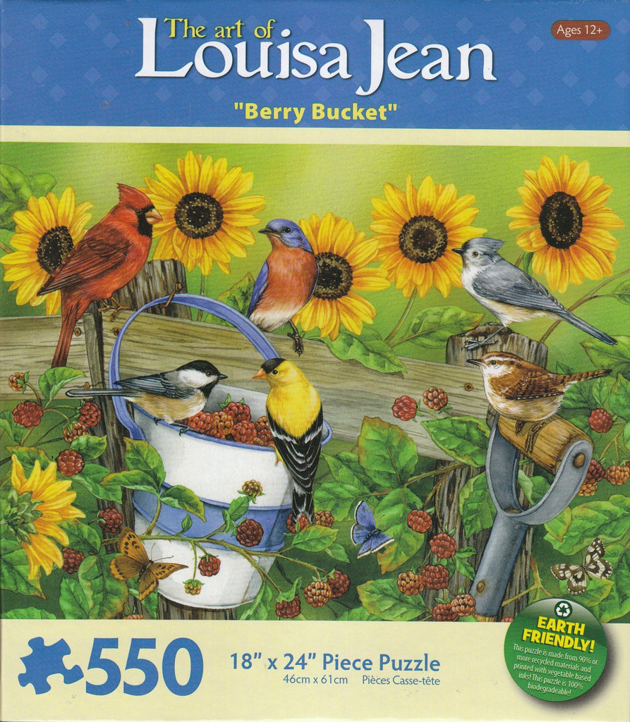Berry Bucket 550 Piece Puzzle