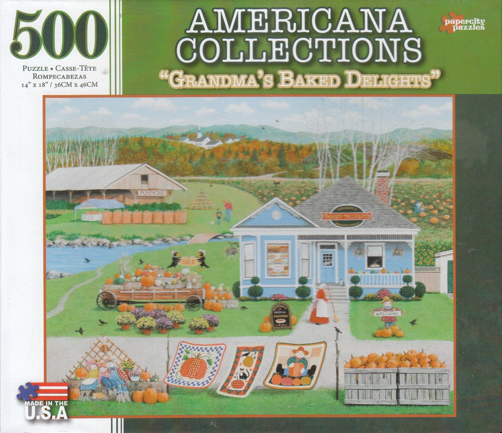 Grandma's Baked Delights 500 Piece Puzzle