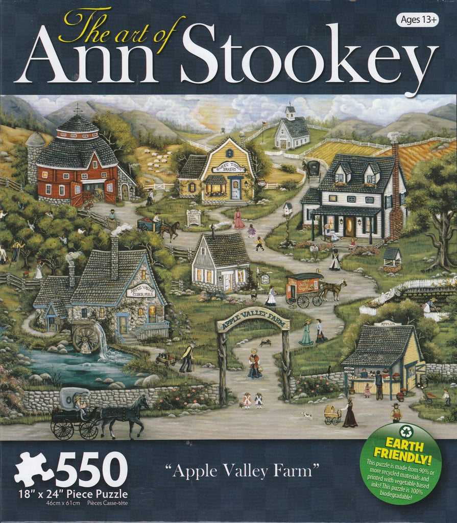 Apple Valley Farm 550 Piece Puzzle