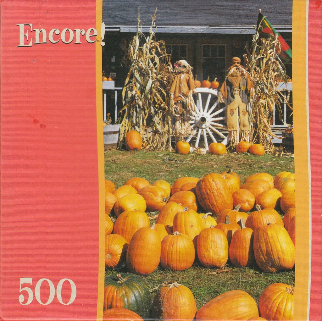 Pumpkin Farm 500 Piece Puzzle