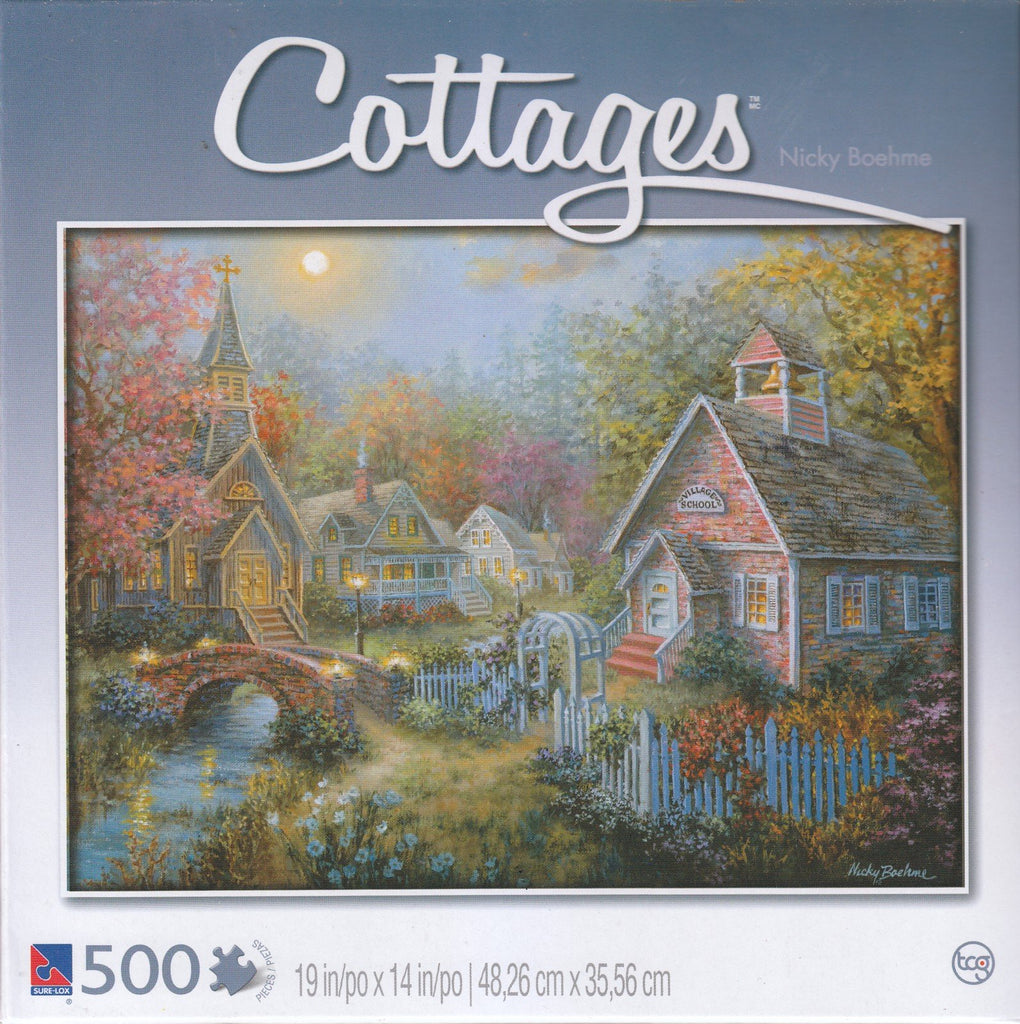 Cottages - Moral Guidance 500 Piece Puzzle