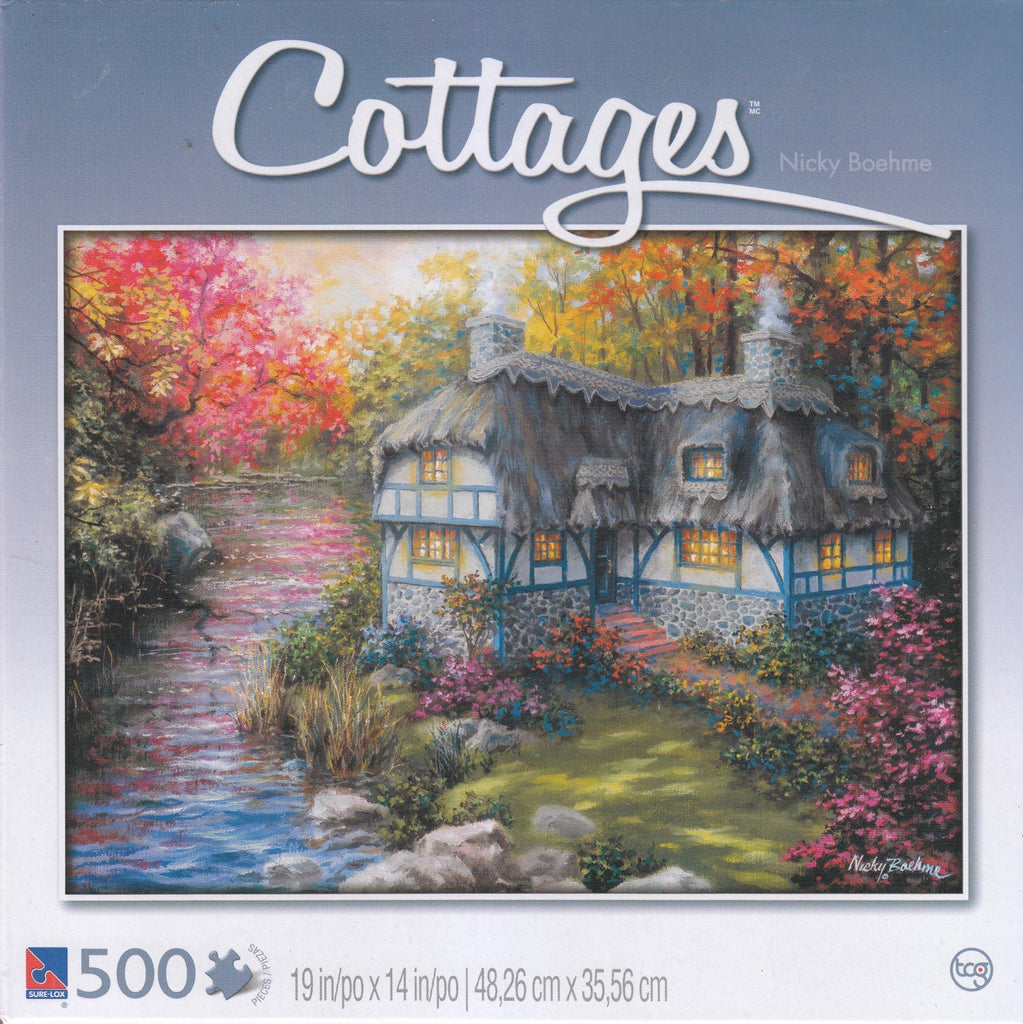 Cottages - There's No Place Like Home 500 Piece Puzzle
