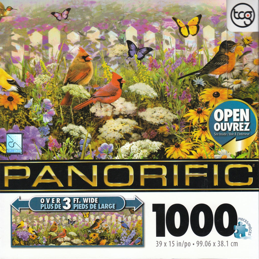 Bird Panorama 1000 Piece Puzzle