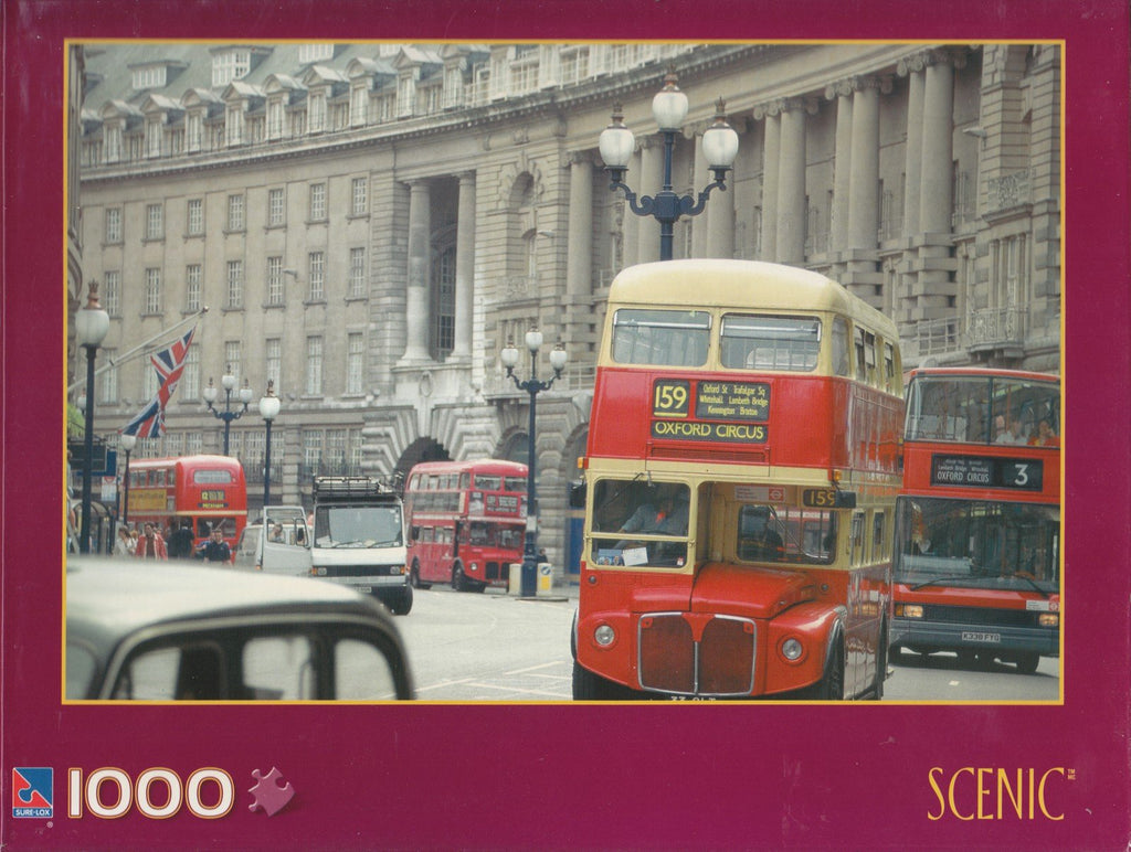 Double Decker Buses 1000 Piece Puzzle