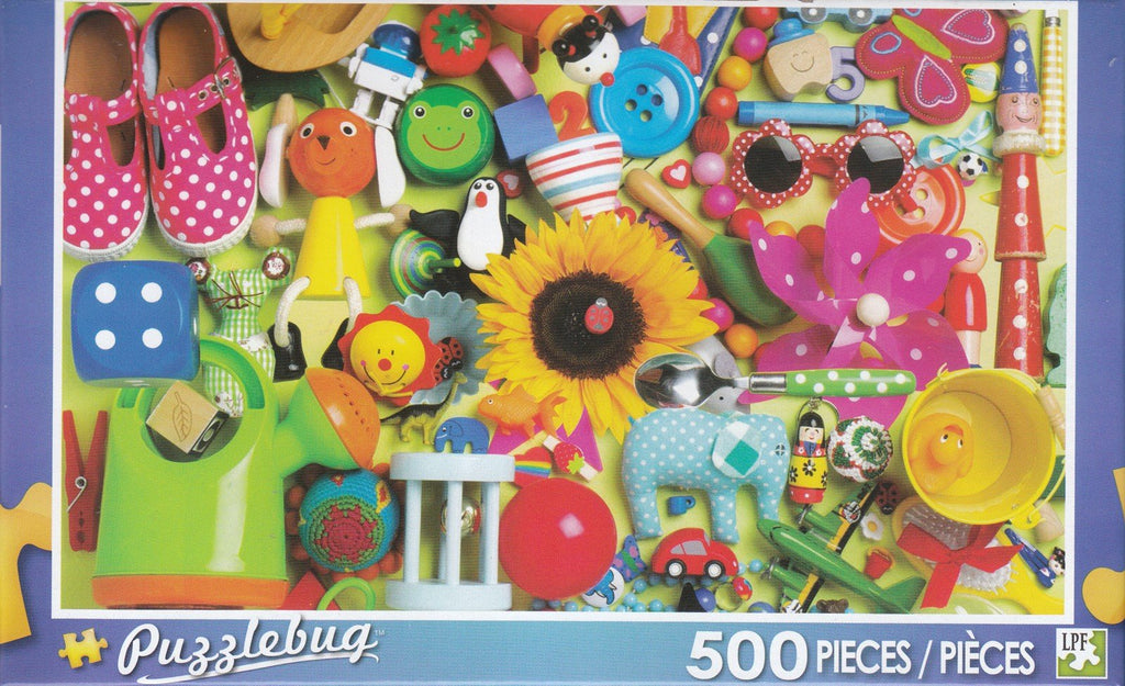Puzzlebug 500 - Fun With Toys