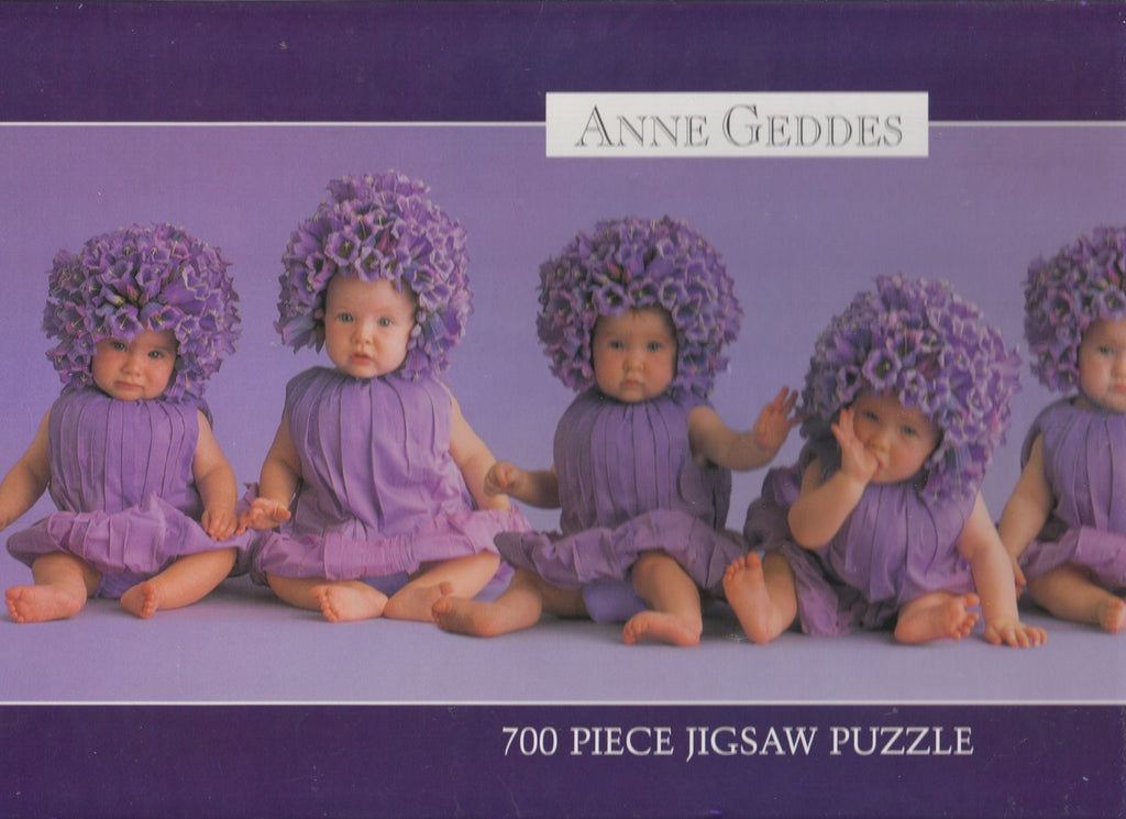 Purple Lilac Babies 700 Piece Puzzle