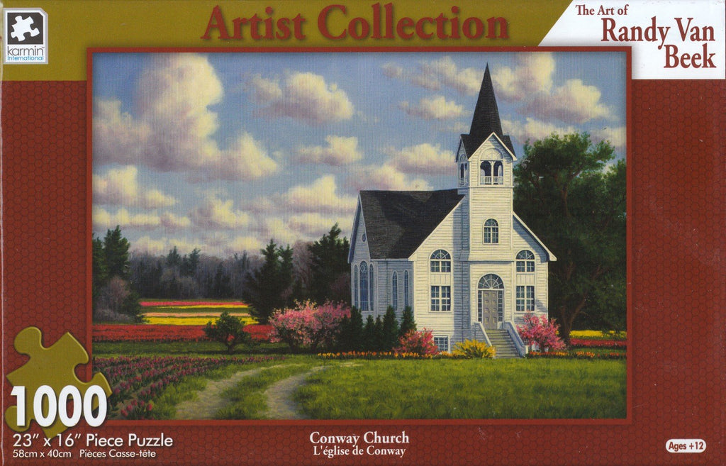 Conway Church 1000 Piece Puzzle