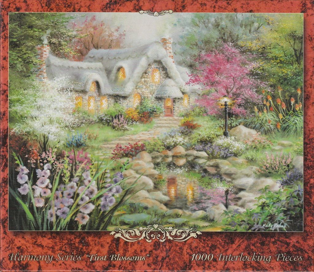 First Blossoms 1000 Piece Puzzle